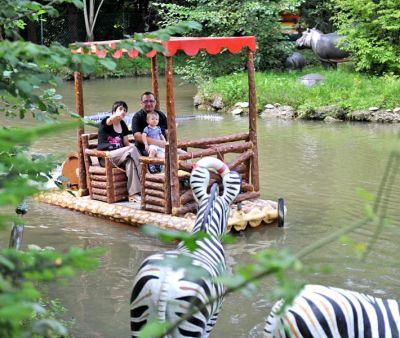 Safari-Floßfahrt